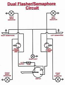 universal turn signal wiring diagram free wiring diagram