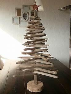 weihnachtsbaum treibholz holz natur shabby chic deko baum