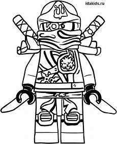 lego ninjago zane coloring pages easy to color in 2020