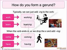 how to teach gerunds and infinitives off2class