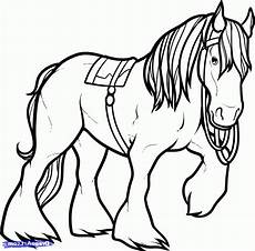 shire coloring pages clydesdale coloring pages