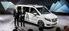 Weltpremiere Mercedes V Klasse Live