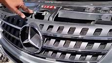 how to install remove your front grille on mercedes w164