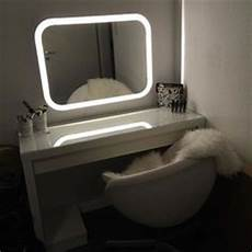 malm dressing table storjorm lighted mirror ikea