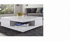 table basse carrée blanc laqué table basse carr 233 e design blanc laqu 233 avec 2 tiroirs marne
