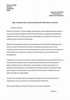 lettre de motivation pour un apprentissage 12 mod 232 le lettre de motivation alternance modele cv