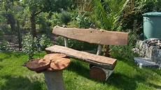 Rustikale Gartenbank Selbst Bauen Aus Holzst 228 Mmen Eiche