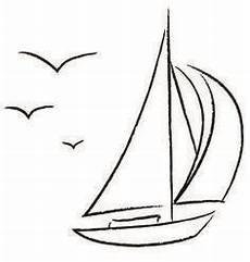 Malvorlage Segelboot Einfach Segelboot Zeichnung