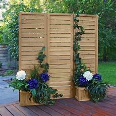 terrasse sichtschutz holz yardistry 5 x 5 wood privacy screen ym11703 the home depot