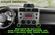 2007 toyota fj cruiser headunit stereo audio radio wiring install colors diagram schematic