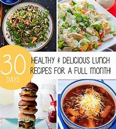 healthy delicious lunch recipes for a full month trimmedandtoned