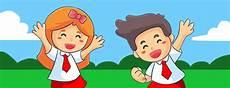 Gambar Animasi Anak Sekolah Sd Nusagates