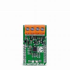 dc motor 5 click carrying the drv8701 brushed dc motor gate driver mikroelektronika