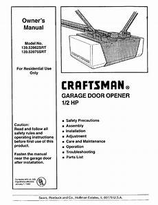 craftsman 139 53975srt user manual 40 pages also for 139 53962 srt