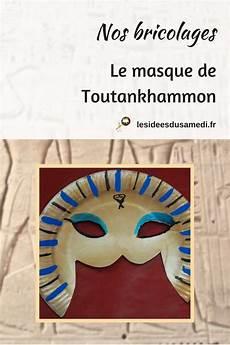 comment fabriquer un masque de pharaon gabarit 224 imprimer