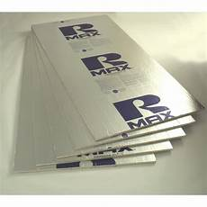 shop rmax polyisocyanurate foam board insulation common 1 in 4 ft 8 ft actual 1 in 4