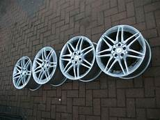 mercedes amg 19 quot inch w212 staggered alloy wheels