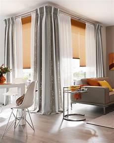 plissee und gardinen kombinieren fenster selene gardinen dekostoffe vorhang wohnstoffe
