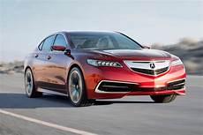 new 2015 acura tlx prototype mid size sedan in detail w video