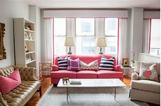 Home Decor Ideas Wall Colors by Pink Sofas An Touch Of Color In The Living Room
