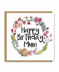 Malvorlagen Zum Geburtstag Mutter Alles Gute Zum Geburtstag Floral Geburtstagskarte F 252 R