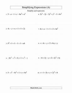probability worksheets algebra 2 5695 simplifying algebraic expressions with two variables and six terms addition and subtraction a