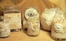 decorare vasi di vetro make the best of things pretty craft room jars