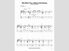 We Wish You A Merry Christmas Guitar Tab-We Wish You A Merry Christmas Chords