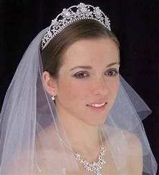 beautiful wedding tiaras with veils sang maestro