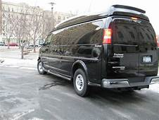 Sell Used Conversion Van Luxury Custom 9 Passenger Black