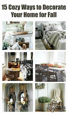 3 Ways To Decorate Your Home For 15 cozy ways to decorate your home for fall design