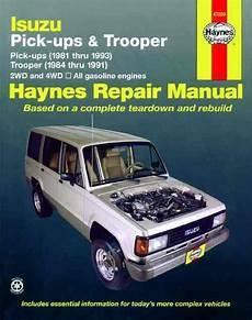 hayes car manuals 1994 isuzu amigo free book repair manuals isuzu pick ups trooper holden jackaroo rodeo petrol 1981 1993 1563920336 9781563920332