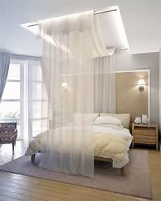 Einrichtungsideen Schlafzimmer Selber Machen - himmelbett vorhang 55 tolle und inspirierende himmelbett