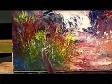 Exercice N 176 5 Peindre Au Couteau A La Peinture A L Huile