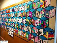 you x cube mural inspired by artist thank youx is basic an elementary