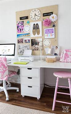 craft room work table using file cabinets in my own style
