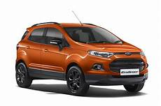Ford Ecosport Black Edition Launched At Rs 8 59 Lakh