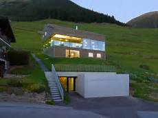 low energy consumption house in swiss alps by savioz
