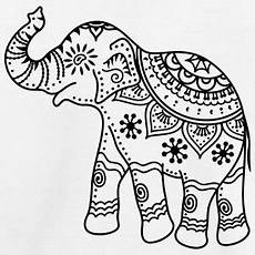 decorated indian elephant drawing search