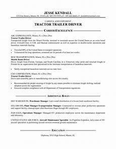 30 truck driver resume pdf resume exles resume objective resume exles