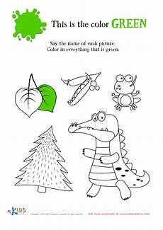 color green worksheets for preschool 12861 learning color green for toddlers and preschool