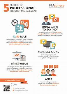 secrets of professional product management infographic interesting infographics business