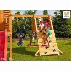 station de jeux en bois s 233 ch 233 lasur 233 maxi set spider land