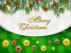 merry christmas card with yellow and balls download free vectors clipart graphics
