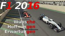 Ps4 Formel 1 2016 - f1 2016 w 252 nsche zum neuen codemasters formel 1 f ps4