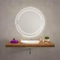 Badspiegel Rund Mit Beleuchtung - ophelia badezimmerspiegel rund mit beleuchtung 09