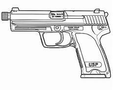 ausmalbilder ausmalbilder pistole zum ausdrucken