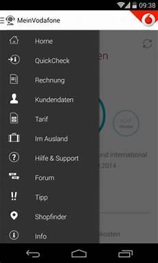 mein vodafone app service f 252 r mobile vertragskunden