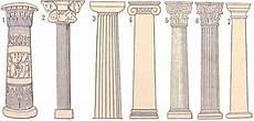 les types de colonnes antiques le bureau de m bureau