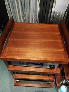 hifi rack holz solid wood hifi rack used sold
